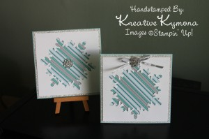 2 Snowflake Cards