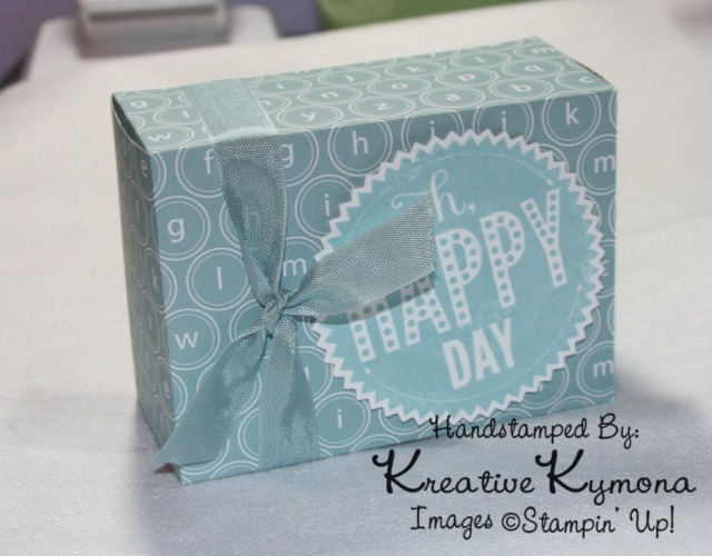 Oh Happy Day Box Standing