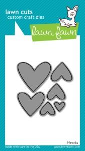 Hearts Lawn Cuts