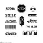 ME Smitten Stamp Set