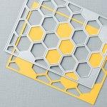 Hexagon Hive Thinlits Die 132965