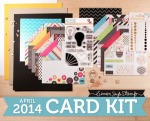 SSS April Card Kit 2014