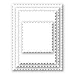 Postage Stamp Edge Frames