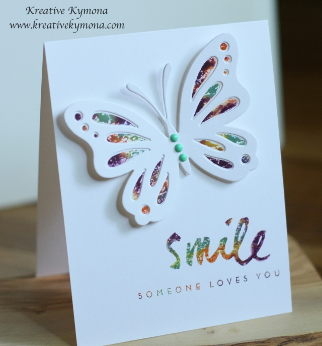 Smile somone loves you