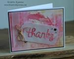 Thanks tag card