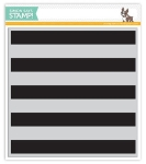 Wide Stripe Background Stamp