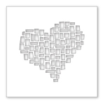 SSS Mosaic Heart Stencil