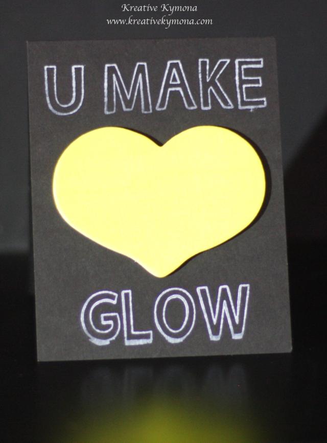 You make my heart glow