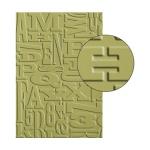Alphabet Embossing Folder