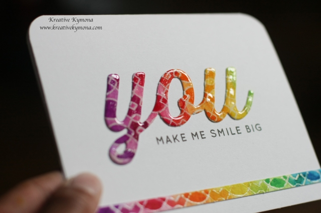 Big You and Background Stamp