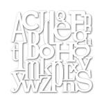 Scrambled Letter Stencil