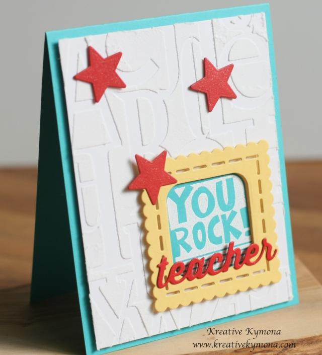 You Rock Teacher front