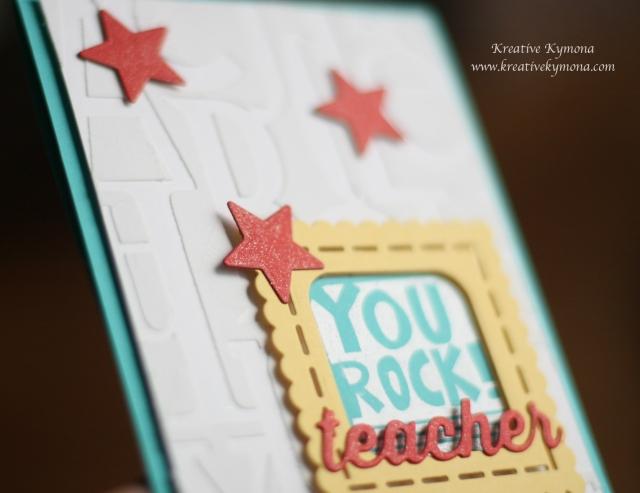 You Rock Teacher wink of stella