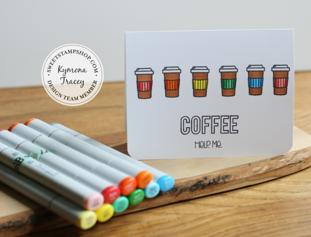 Coffee Cup with Copics