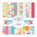 Doodlebug Design Take Note Pattern Paper