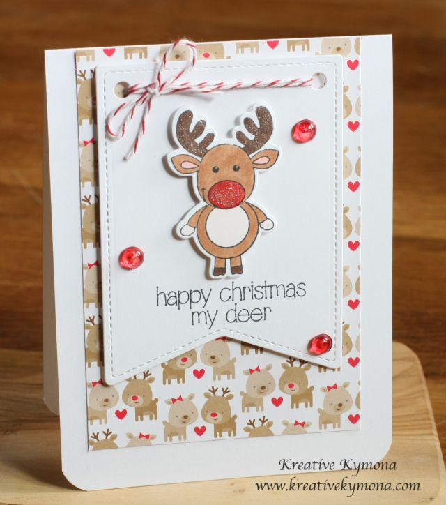 My Deer Christmas Card