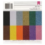 American Crafts Glitter Paper