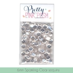Pretty Pink Posh 6mm Sequins