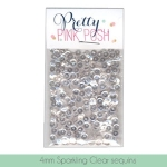Pretty Pink Posh Sequins 4mm