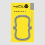 Holiday Label1 Die