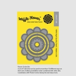 Waffle Flower Flower Circles Die