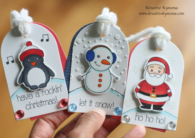 Winter Friends Gift Tags