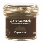 Adirondack Espresso Empossing powder