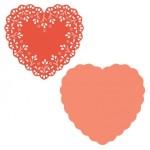 TDD Heart Doily Die