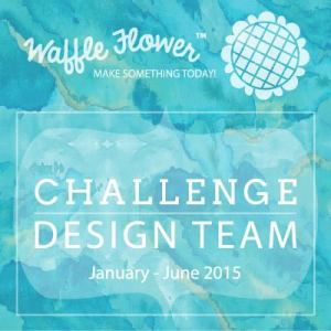 Waffle Flower Craft Challenge Design Team Badge