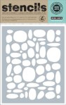 Hero Arts Stone Circle Pattern Stencil