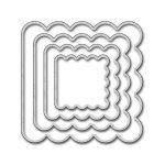 MFT Die-namics Mini Album Square Scallop STAX