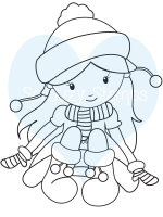 http://www.sosuzystamps.com/sitting-snow-girl/