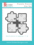 LID Puzzle Pieces Die Set