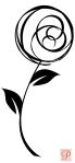 Rose Circle Flower