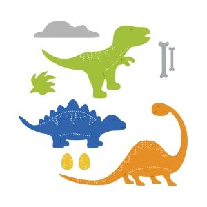 Top Dog Dies Dinosaur Trio Die Set