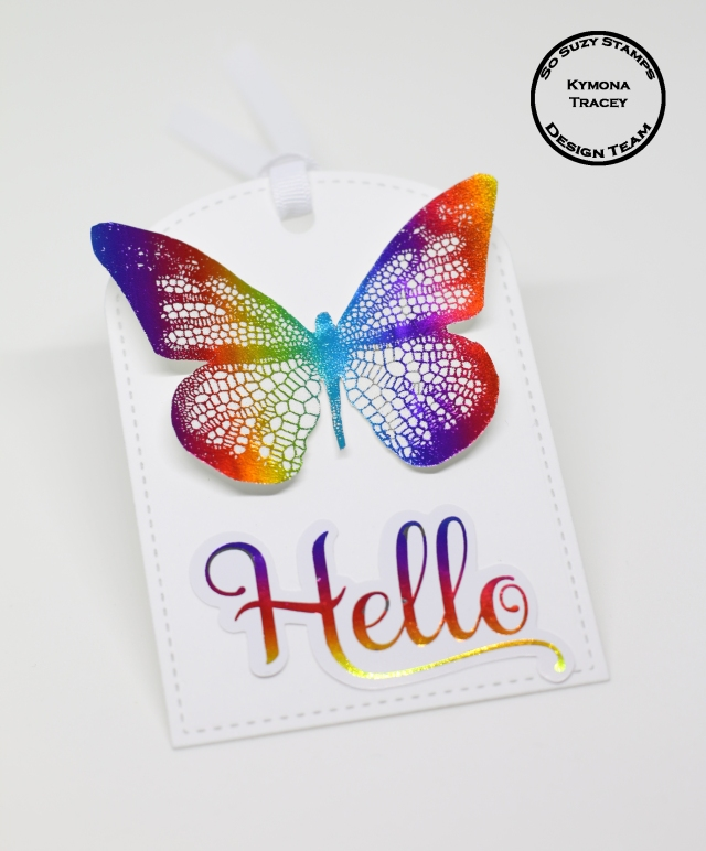 Foiled Butterfly