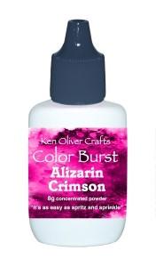 Ken Oliver Color Burst - Alizarin Crimson