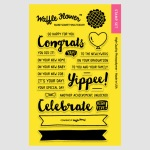 WF Congrats Stamp Set