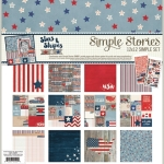 Simple Stories Stars and Stripes