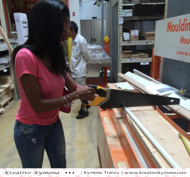 Cutting with a saw