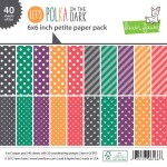 Lets Polka In The Dark Petite Paper Pack