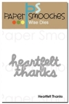 Paper Smooches Heartfelt Thanks