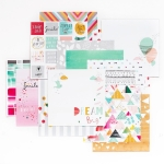 Pink Fresh Studio Happy Things Paper