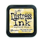 Distress Ink Scattered Straw