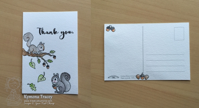 Thank You Postcard (YNS)