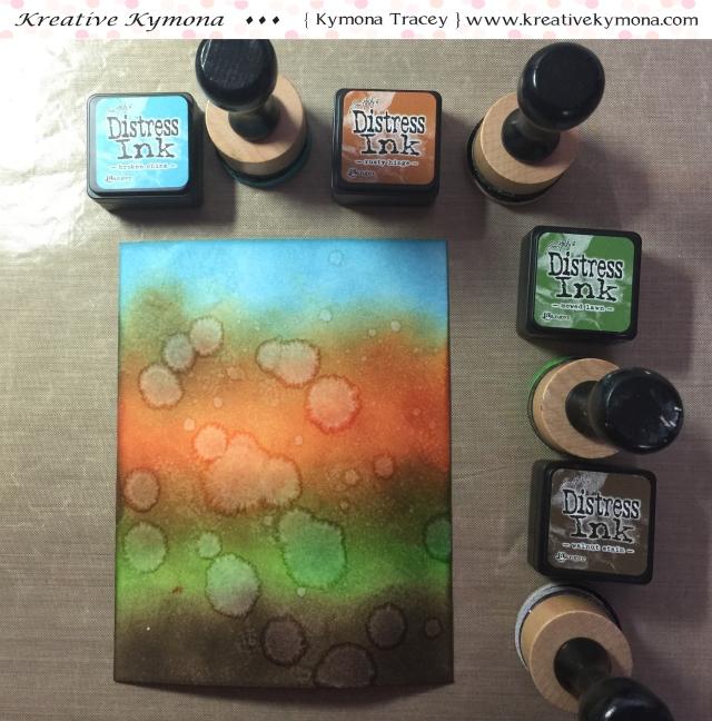 Ink blending