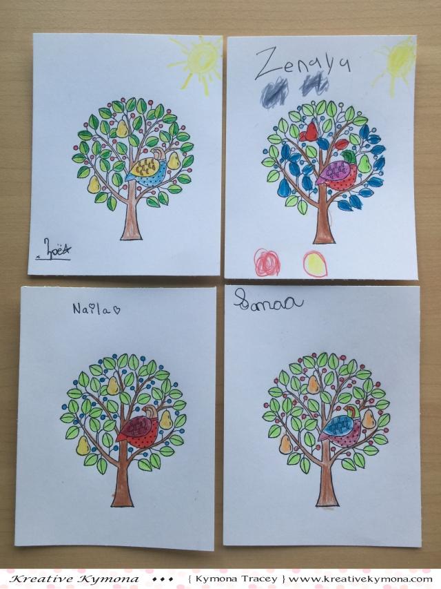 kids pear tree