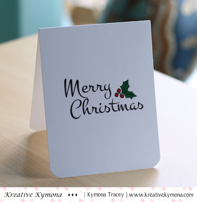 Merry Christmas (CAS)