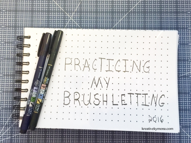 Brushlettering Notebook