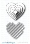 Stripetastic Heart